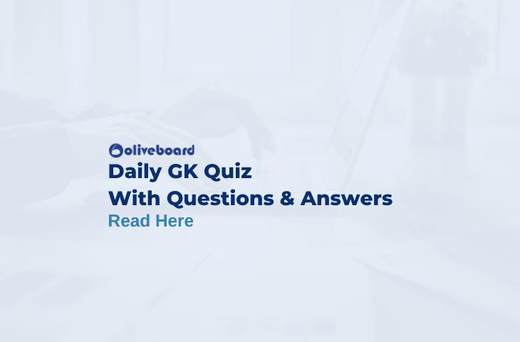 Daily GK Quiz