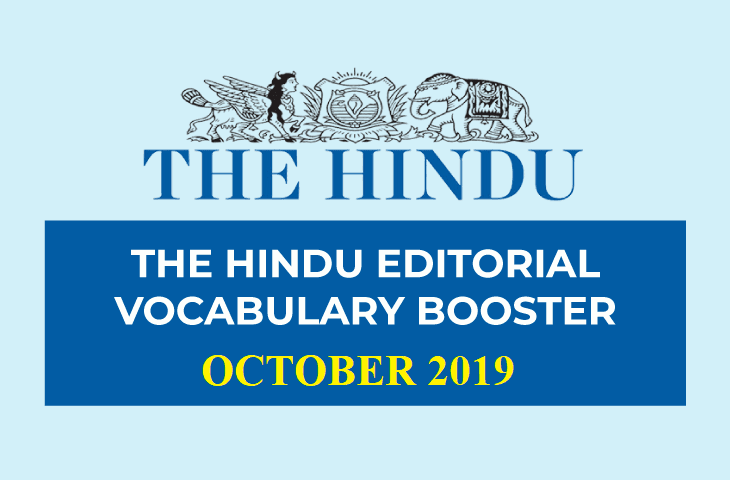 Vocabulary Booster October 2019