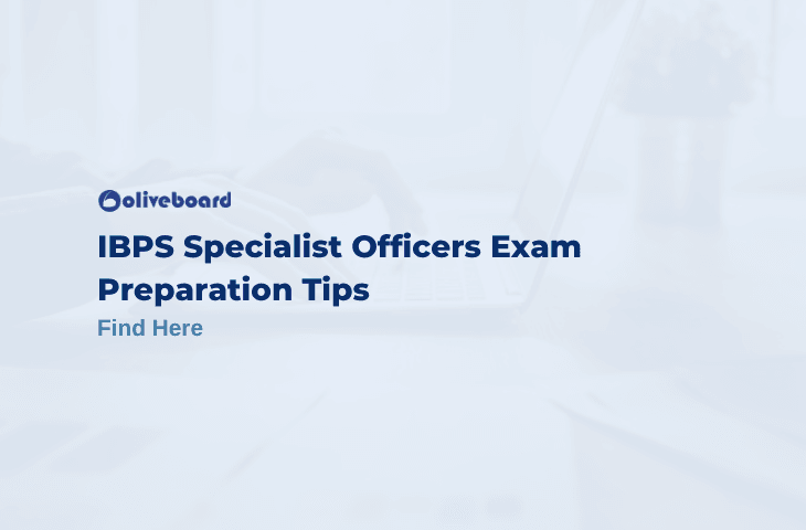 IBPS Specialist Officers Exam