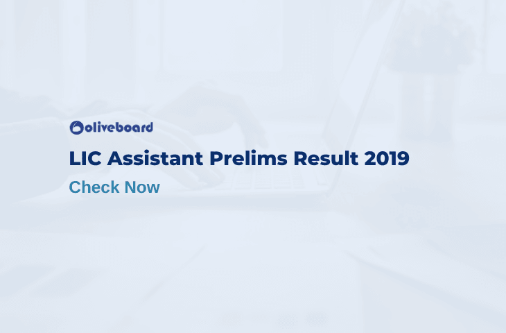 lic assistant prelims result