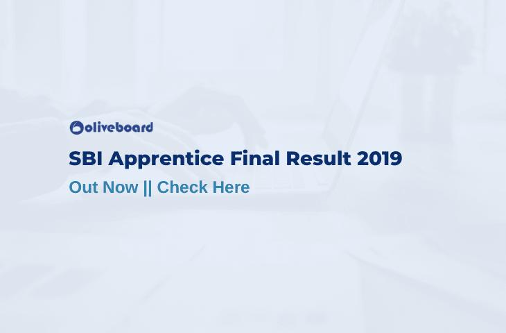 SBI Apprentice Final Result 2019