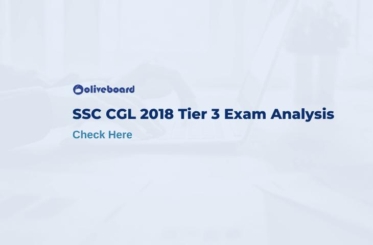 SSC CGL 2018 Tier 3