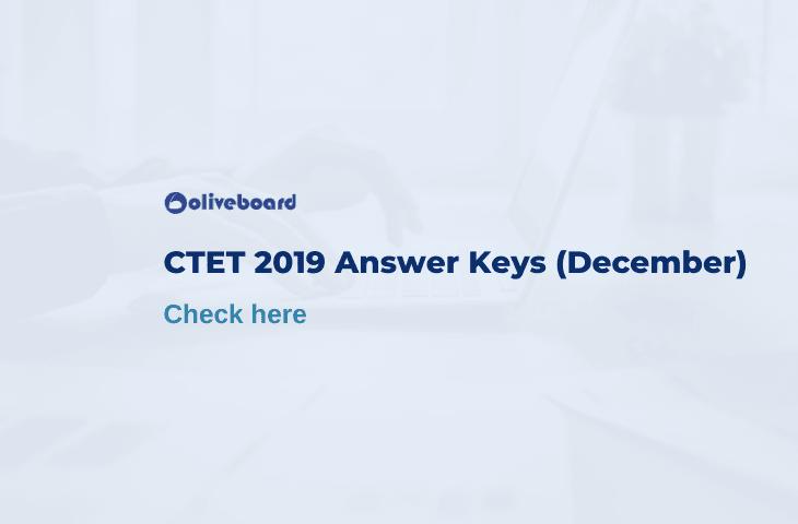 CTET 2019 answer key