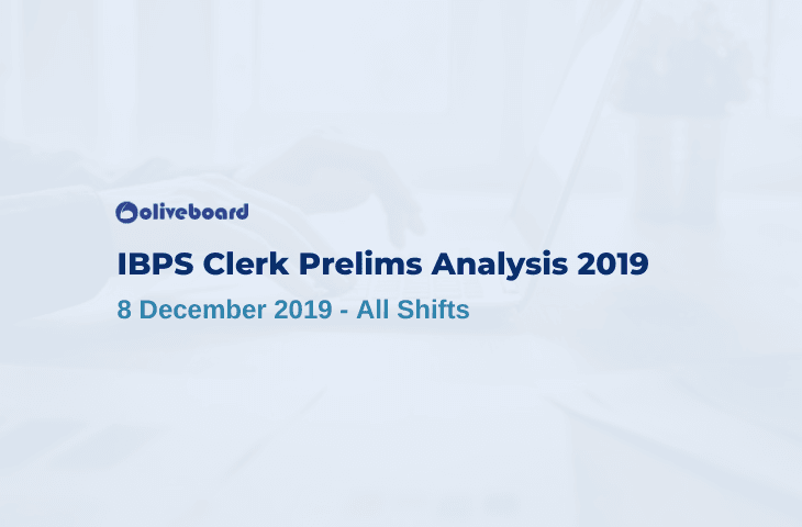 IBPS Clerk Exam Analysis 2019
