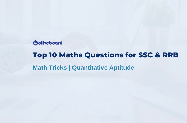 Top 10 Maths Questions for SSC & RRB