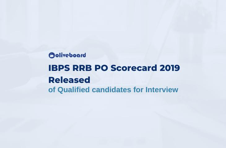 IBPS RRB PO Scorecard 2019