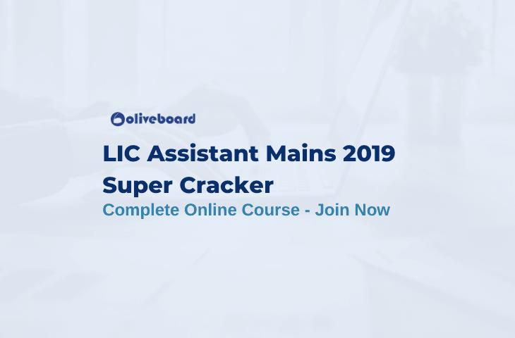 LIC Assistant Mains Online Course