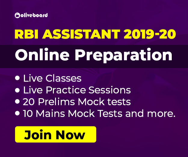 RBI Assistant online preparation