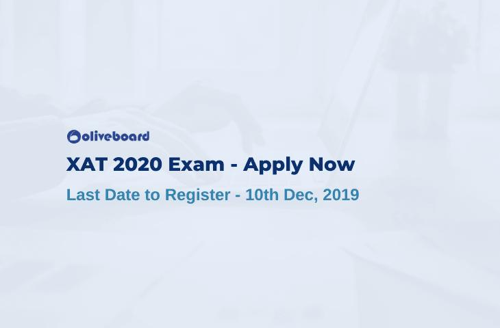 XAT 2020 Registration Last Date