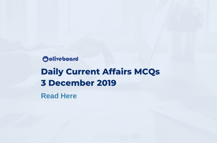Daily Current Affairs MCQ 3 December 2019