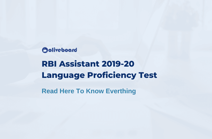 RBI Assistant Language Proficiency Test