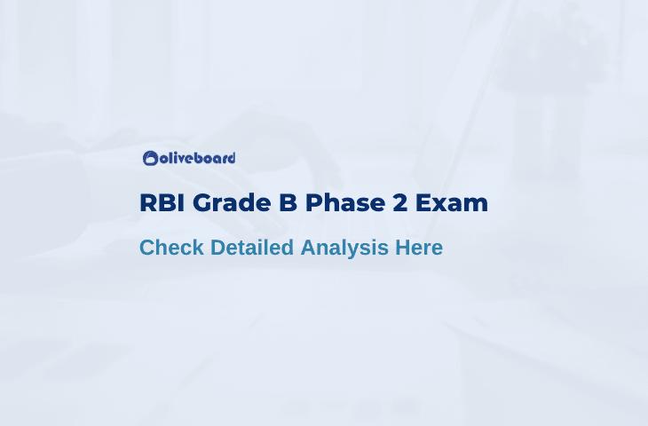 RBI Grade B Phase 2 Exam Analysis