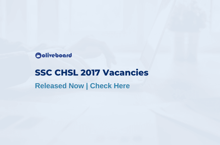 SSC CHSL Vacancies 2017