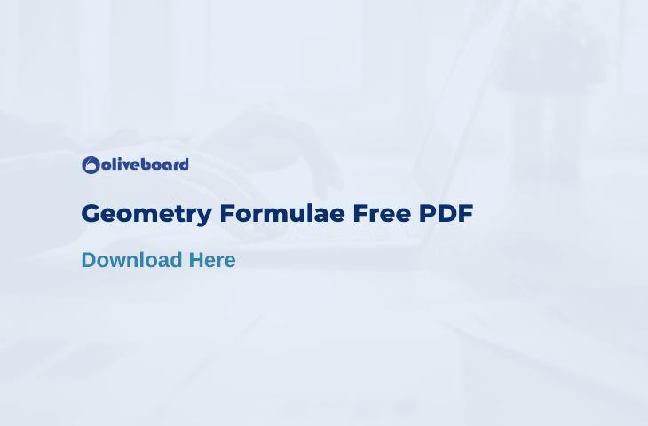 Geometry Formulas PDF