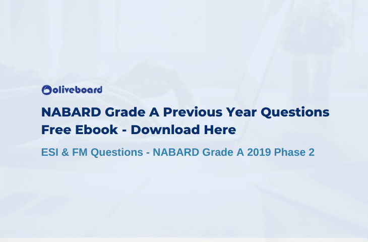 NABARD Grade A Previous Year Paper