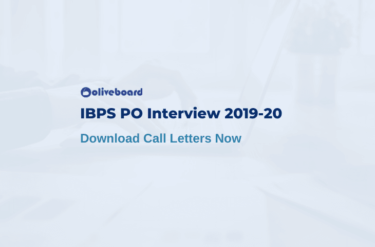IBPS PO Interview Call Letter 2019