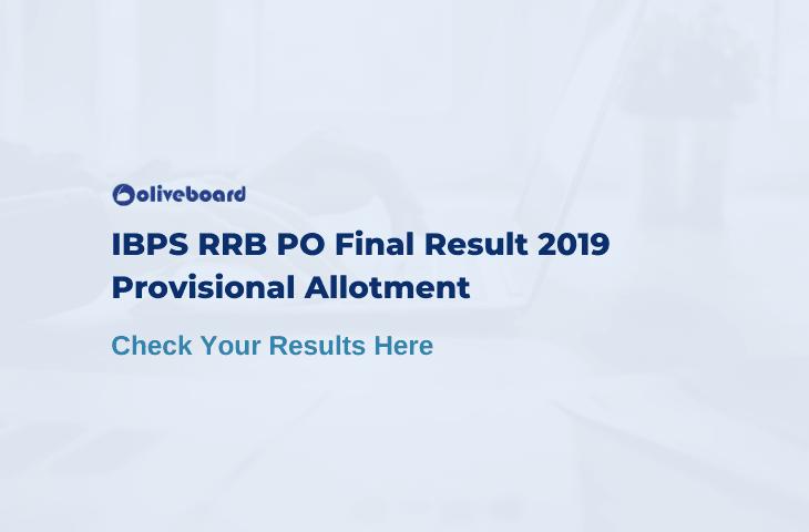 IBPS RRB PO Final Result 2019