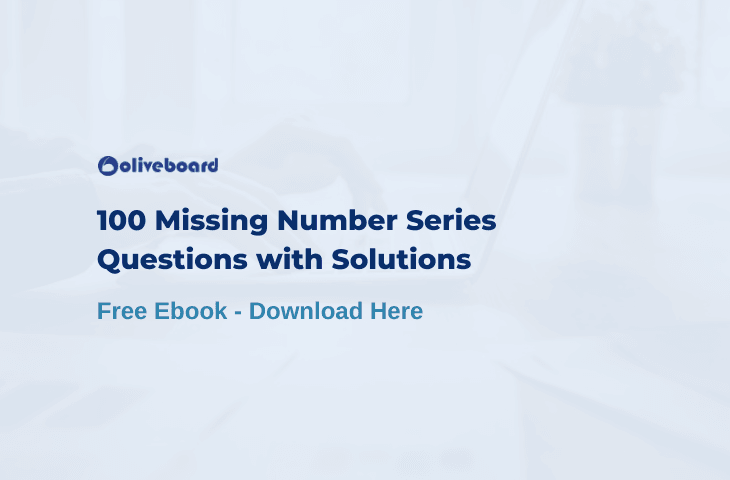 Number Series PDF with Solutions