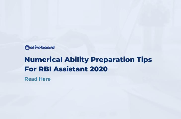 RBI Assistant Numerical Ability
