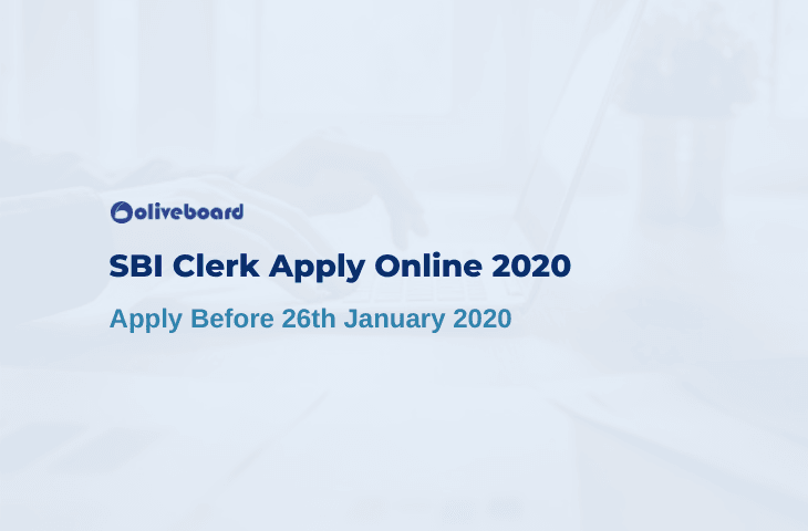 SBI Clerk Apply Online 2020