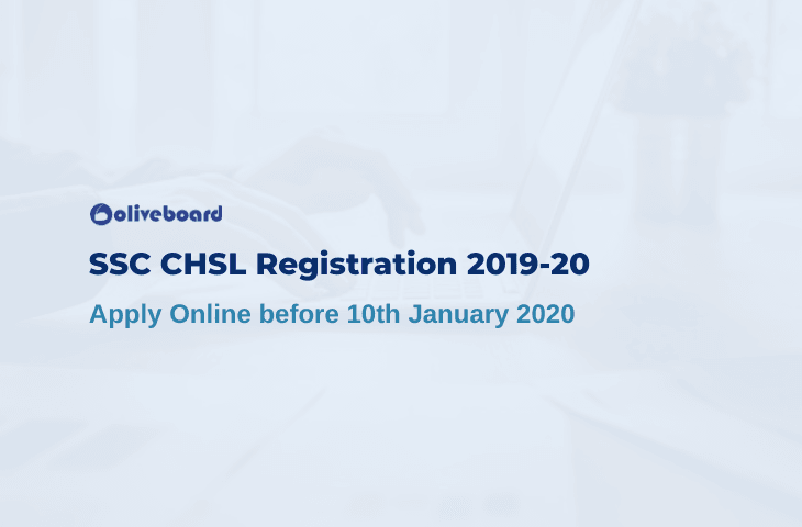 SSC CHSL Registration 2019