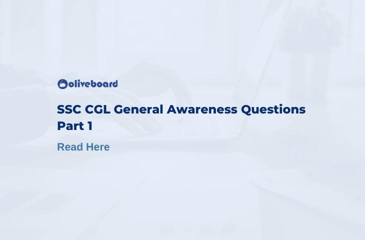 ssc cgl general awareness questions