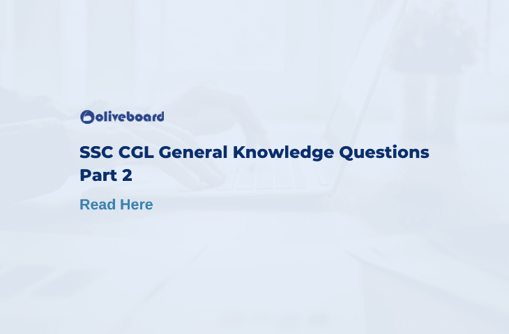 SSC CGL General Knowledge Questions