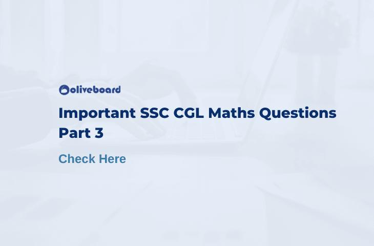 ssc cgl maths questions