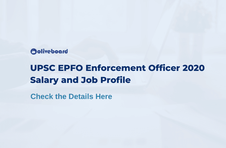 UPSC EPFO Enforcement Officer Salary