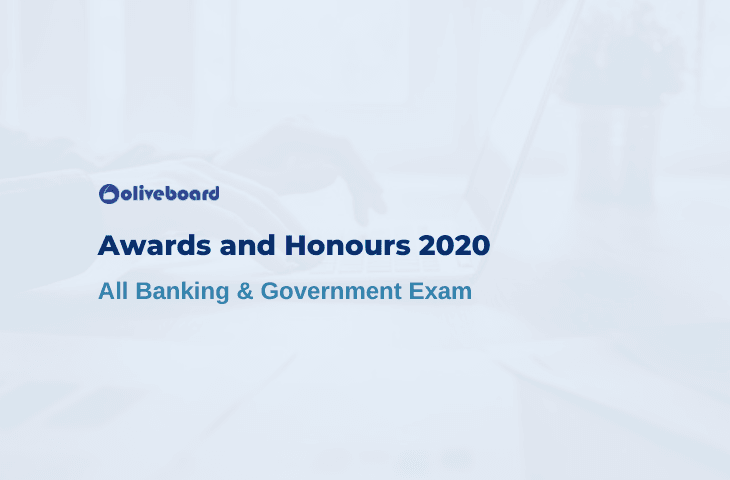 Awards and Honours 2020