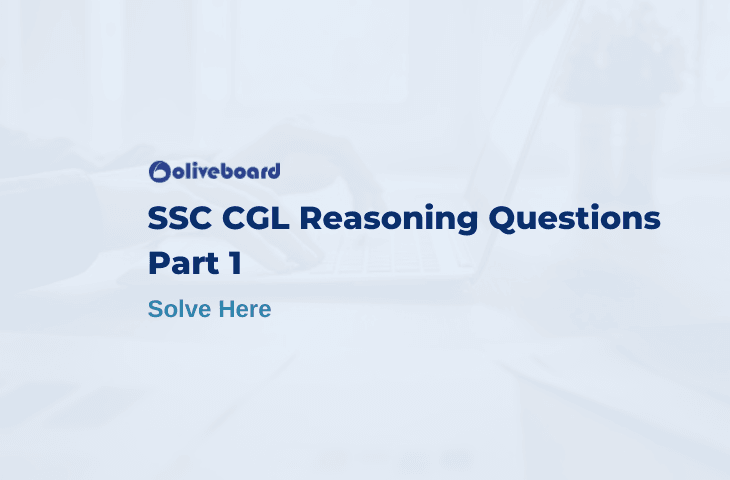 ssc cgl reasoning questions
