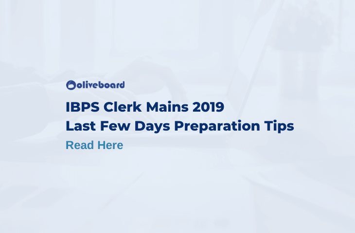 IBPS Clerk mains Preparation tips