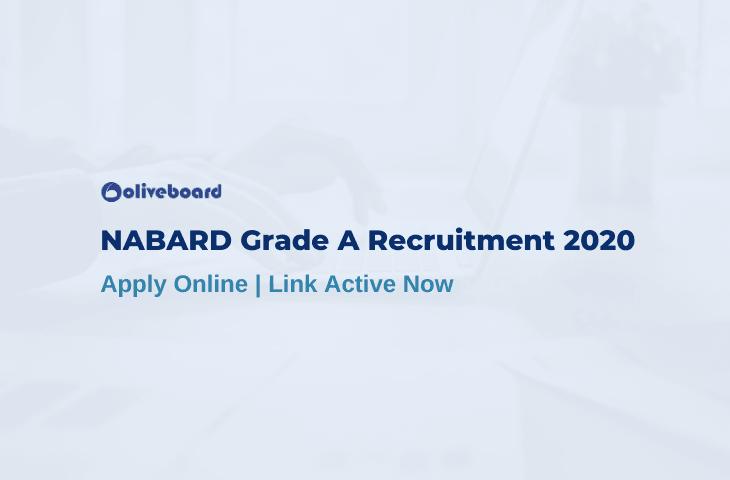 NABARD Grade A Apply Online