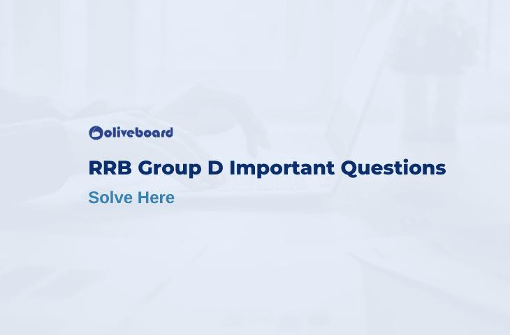 RRB Group D Important Question