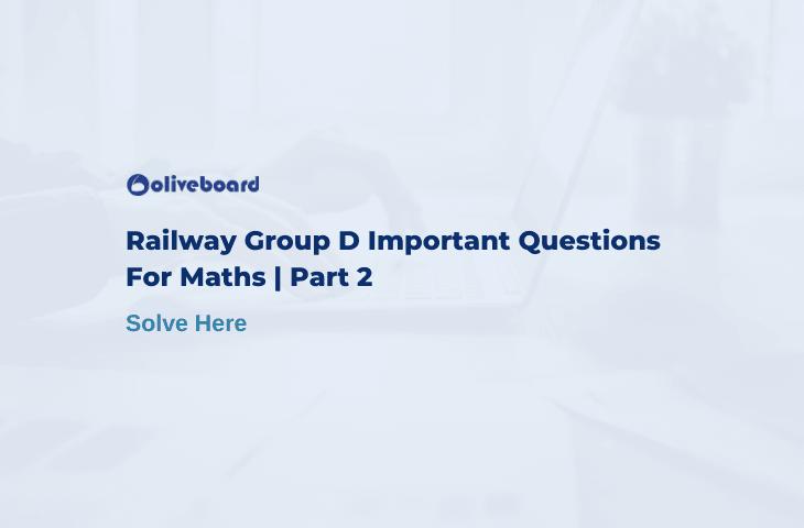 railway group d important question