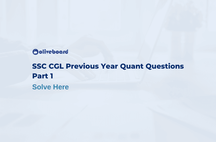 Previous Year Quant Questions of SSC CGL