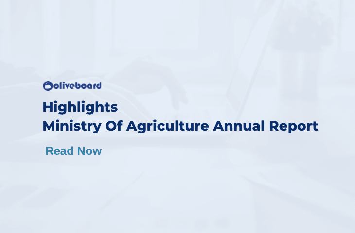 Agricultural Ministry Annual Report