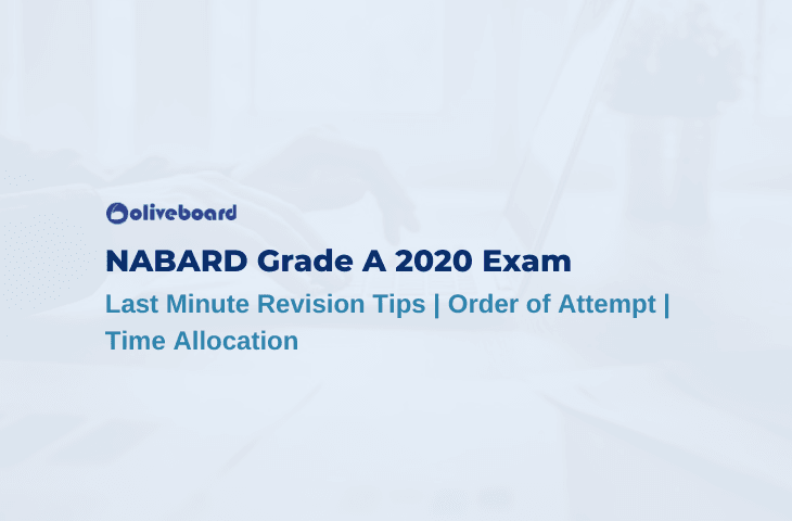 NABARD Grade A Last Minute Tips