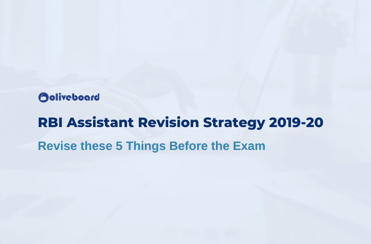 RBI Assistant Revision Strategy
